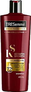 Tresemme Keratin Smooth With Marula Oil Shampoo 400 ml