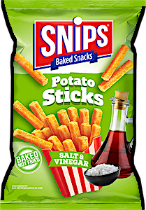 Snips Potato Sticks Salt & Vinegar 45 g