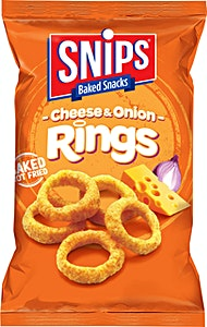 Snips Cheese & Onion Rings 17 g
