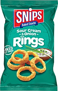 Snips Sour Cream & Onion Rings 35 g