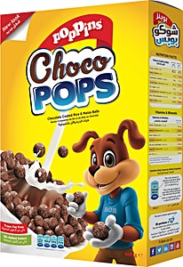 Poppins Choco Pops 600 g