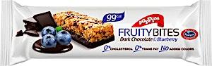 Poppins Fruity Bites Dark Chocolate & Blueberry 25 g