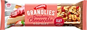Poppins Granolies Strawberry Cheesecake Oat Bar 30 g