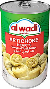 Alwadi Alakhdar Artichoke Hearts 390 g