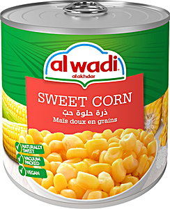 Alwadi Alakhdar Sweet Corn 340 g