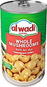Alwadi Alakhdar Whole Mushrooms 400 g