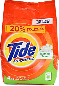 Tide Jasmine Scent 4 kg 20% OFF