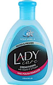 Lady Care Nail Polish Remover Aqua Vanilla 120 ml