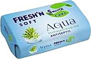 Fresh'n Soft Antiseptic  Soap Bar Aqua 75 g