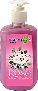 Fresh'n Soft Antiseptic Liquid Soap Rose 500 ml