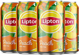 Ice Tea Peach 175 ml - 5 + 1 Free