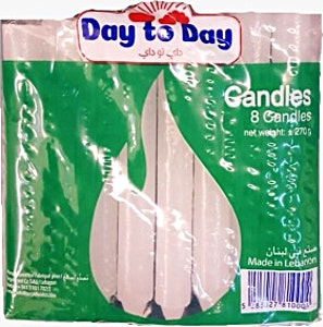 Day To Day Candles Bag 8's