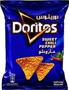 Doritos Sweet Chili Pepper Tortilla Chips 180 g