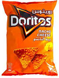 Doritos Nacho Cheese Tortilla Chips 180 g