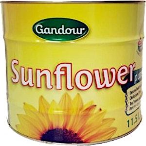 Gandour Pure Sunflower Oil 11.5 L