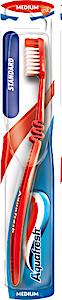 Aquafresh Standard Toothbrush Red Medium 1's