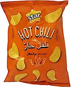 Star Hot Chili Potato Chips 70 g