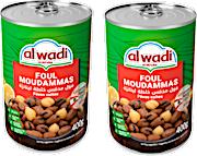 Al Wadi Al Akhdar Foul Moudammas 2 x 400 g 15% OFF