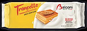 Balconi Trancetto Apricot Cream Filling 28 g
