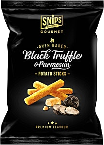 Snips Black Truffle & Parmesan Potato Sticks 90 g
