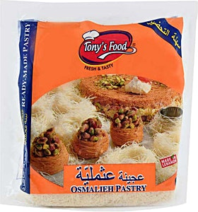 Tony's Food Osmalieh Pastry 1000 g