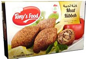 Tony's Food Meat Kibbeh 350 g