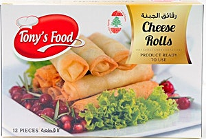 Tony's Food Cheese Rolls 250 g
