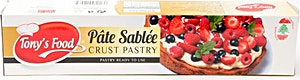 Tony's Food Pate Sablee Crust Pastry 250 g
