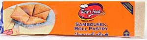 Tony's Food Sambousek Roll Pastry 400 g