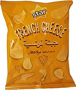 Star French Cheese Potato Chips 70 g