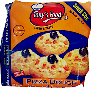 Tony's Food Pizza Dough 8 cm 650 g