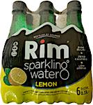 Rim Sparkling Water Lemon 0.33 L - Pack of 6
