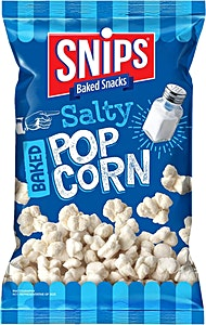 Snips Salty Baked Popcorn 40 g @20%OFF