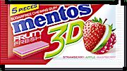 Mentos Gum 3D Strawberry 8.5 g