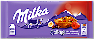 Milka Collage With Raspberry 93 g