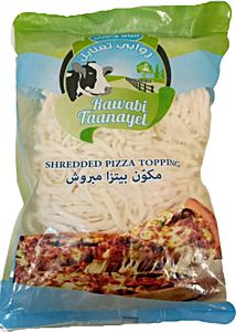 Rawabi Taanayel Shredded Pizza Topping 1 Kg