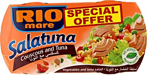 Rio Mare Salatuna Couscous and Tuna 2 x 160 g @30%OFF