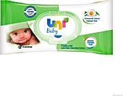 Uni Baby Natural Wipes 56's