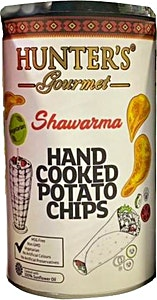Hunter's Shawarma Cooked Potato Chips 150 g