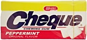 Cheque PepperMint Flavor 13.5 g