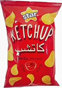 Star Ketchup Potato Chips 70 g
