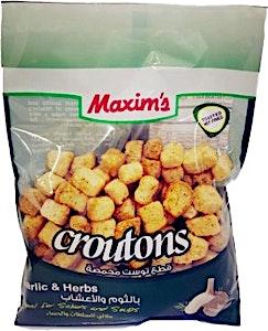 Maxim's Garlic & Herbs Croutons 75 g