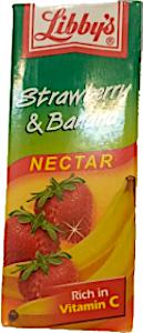 Libby's Strawberry & Banana 200 ml