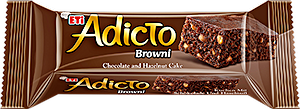 Adicto Browni Chocolate & Hazelnut Cake 40 g