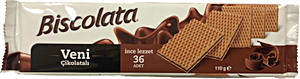 Biscolata Buscuits With Chocolate 36's