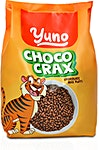 Yuno Choco Crax Rice Puffs 300 g