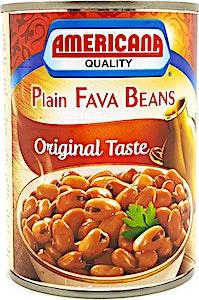 Americana Plain Fava Beans 400 g @25% OFF
