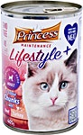 Princess Adult Cat Food Tuna Can 405 g