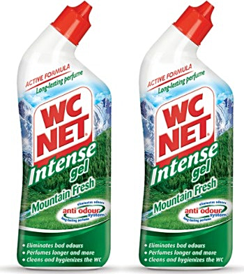 WC Net Gel Mountain Fresh 2x750 ml @35% OFF