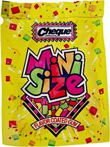 Cheque Mini Size Gum 12 g